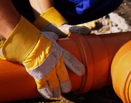Сантехнические работы - Монтаж канализации