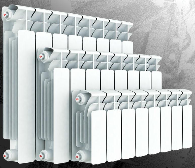 Батареи отопления, секционный биметаллический радиатор