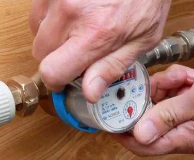 Услуги сантехника - Установка счетчиков воды
