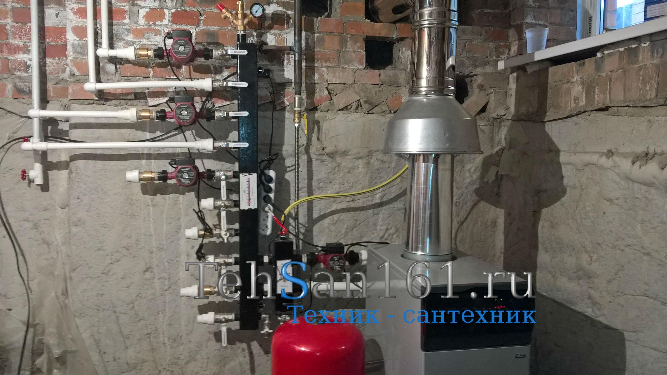 Гидрострелка с коллектором